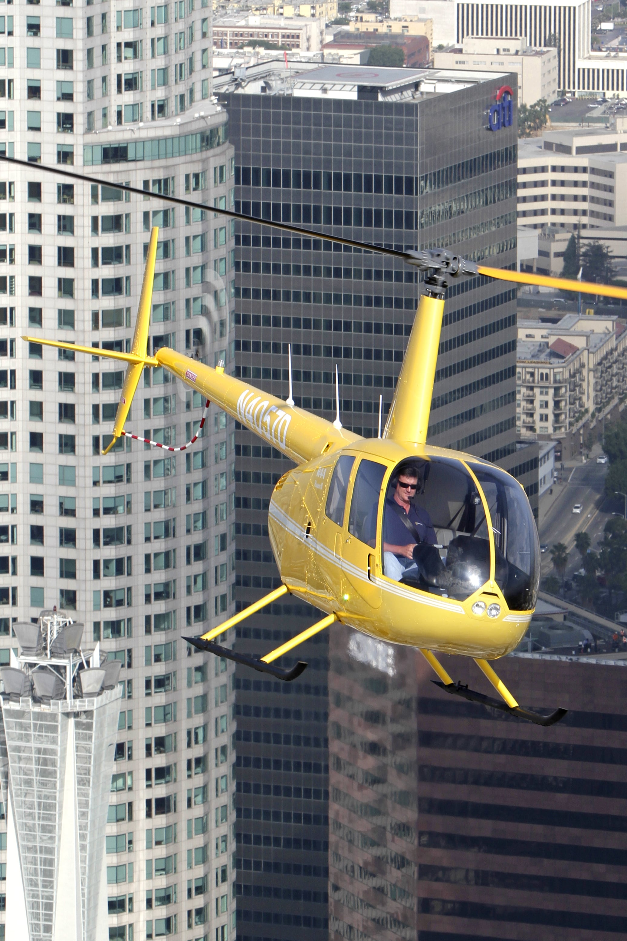 R44 yellow front buildings image