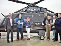 Penzance Helicopters welcome their first passengers onboard the NEW Isles of Scilly helicopter service image