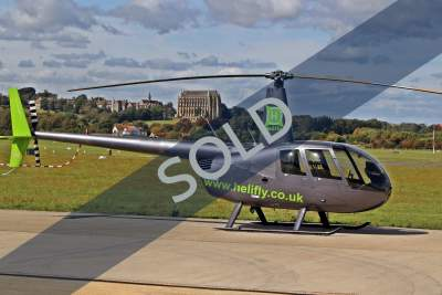 Timed out 2007 Robinson R44 Raven II - SOLD